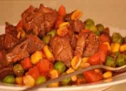 свинина-на-овощах