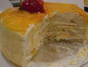торт-бисквитный