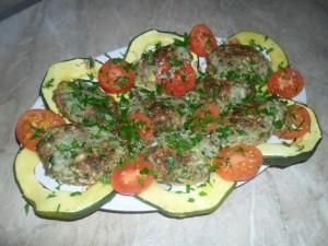 Наш Рецепт. Вкусные рецепты » Зразы мясные с грибами
