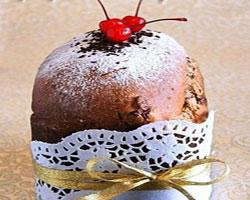 шоколадный-кулич