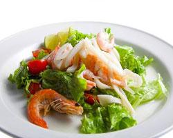 с-морепродуктами