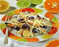 салат-из-мандаринов-и-винограда