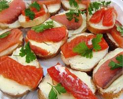 бутерброд-с-рыбой