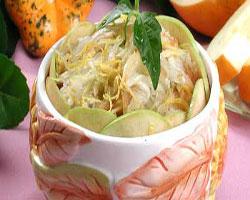 салат-из-дыни-с-яблоками
