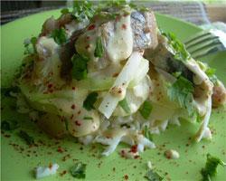 салат-из-макарон-и-копченой-рыбы